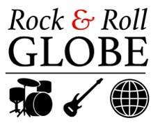 Rock & Roll Globe logo