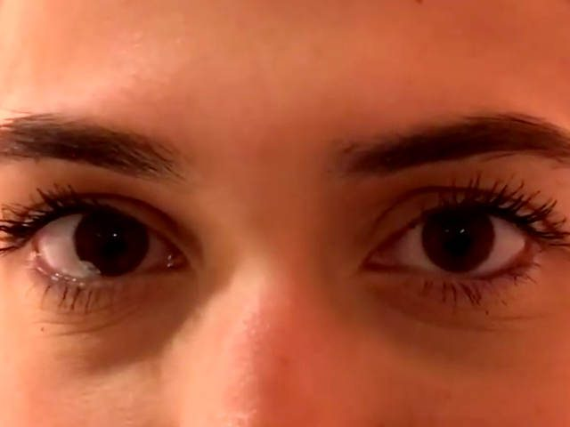 "Eyes from the ""If Your Eyes are Closed"" video"