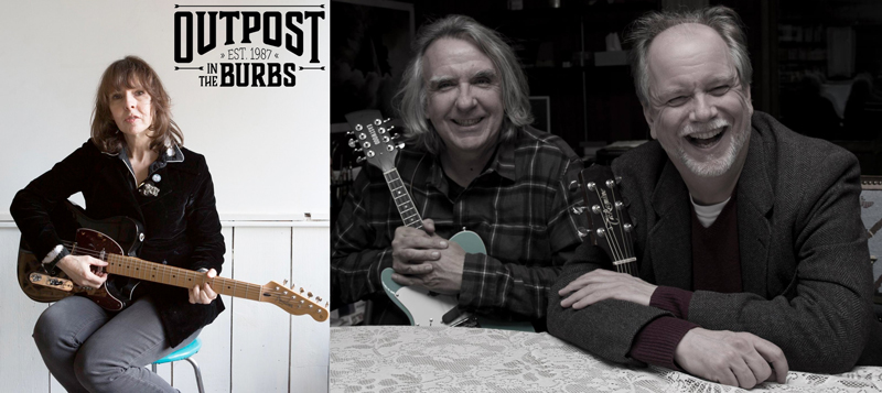Outpost in the Burbs presents: Amy Rigby with Matt Davis and Ed Seifert